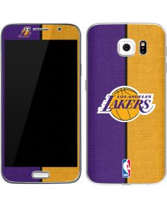 Los Angeles Lakers Canvas Galaxy S7 Skin