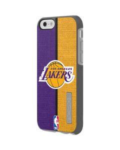 Los Angeles Lakers Canvas Incipio DualPro Shine iPhone 6 Skin