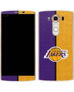 Los Angeles Lakers Canvas V10 Skin