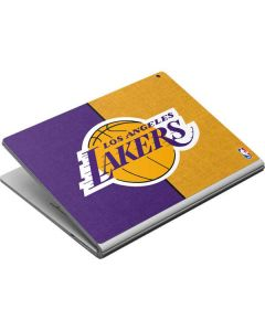 Los Angeles Lakers Canvas Surface Book Skin