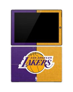 Los Angeles Lakers Canvas Surface Pro 3 Skin