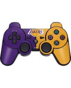 Los Angeles Lakers Canvas PS3 Dual Shock wireless controller Skin