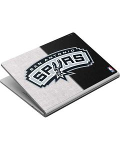 San Antonio Spurs Canvas Surface Book Skin
