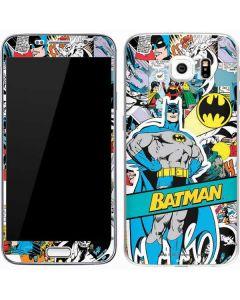 Batman Comic Book Galaxy S7 Skin