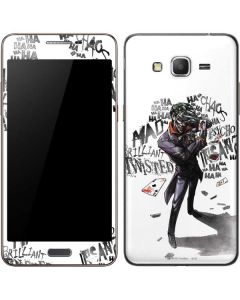 Brilliantly Twisted - The Joker Galaxy Grand Prime Skin