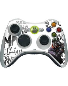 Brilliantly Twisted - The Joker Xbox 360 Wireless Controller Skin