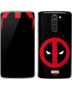 Deadpool Logo Black K7/Tribute 5 Skin