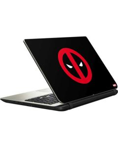 Deadpool Logo Black Satellite L50-B / S50-B Skin