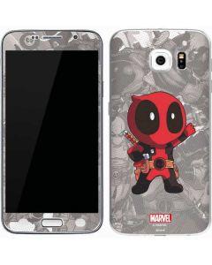 Deadpool Hello Galaxy S6 Skin