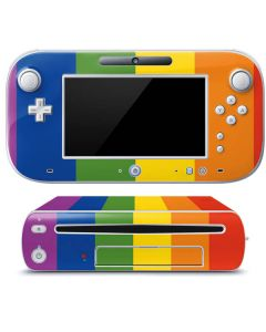 Vertical Rainbow Flag Wii U (Console + 1 Controller) Skin