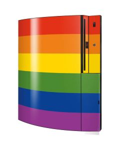 Vertical Rainbow Flag Playstation 3 & PS3 Skin