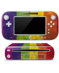 Distressed Rainbow Flag Wii U (Console + 1 Controller) Skin