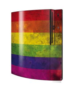 Distressed Rainbow Flag Playstation 3 & PS3 Skin