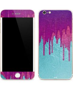 Paint Splatter Purple iPhone 6/6s Plus Skin