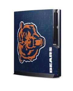 Chicago Bears - Alternate Distressed Playstation 3 & PS3 Slim Skin