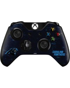 Carolina Panthers Distressed Xbox One Controller Skin