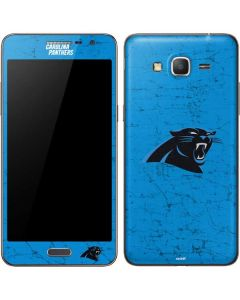 Carolina Panthers Distressed Alternate Galaxy Grand Prime Skin