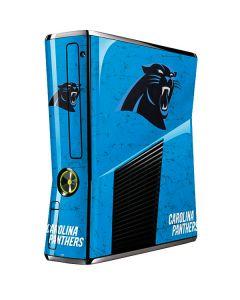 Carolina Panthers Distressed Alternate Xbox 360 Slim (2010) Skin