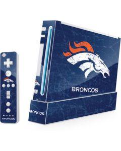 Denver Broncos - Distressed Wii (Includes 1 Controller) Skin