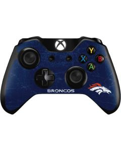 Denver Broncos - Distressed Xbox One Controller Skin