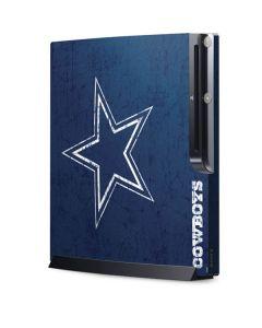 Dallas Cowboys Distressed Playstation 3 & PS3 Slim Skin