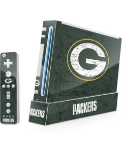 Green Bay Packers Distressed Wii (Includes 1 Controller) Skin