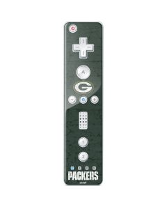 Green Bay Packers Distressed Wii Remote Controller Skin