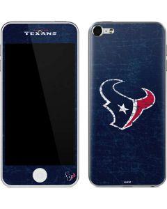 Houston Texans Distressed Apple iPod Skin
