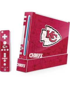 Kansas City Chiefs Distressed Wii (Includes 1 Controller) Skin