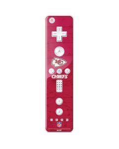 Kansas City Chiefs Distressed Wii Remote Controller Skin