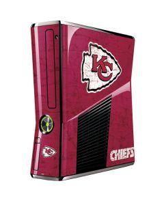 Kansas City Chiefs Distressed Xbox 360 Slim (2010) Skin