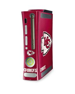 Kansas City Chiefs Distressed Xbox 360 (Includes HDD) Skin