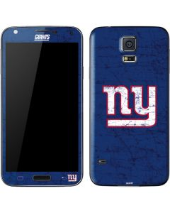 New York Giants Distressed Galaxy S5 Skin