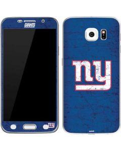 New York Giants Distressed Galaxy S6 Skin
