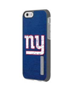 New York Giants Distressed Incipio DualPro Shine iPhone 6 Skin