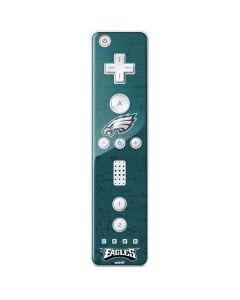 Philadelphia Eagles Distressed Wii Remote Controller Skin
