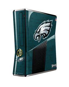 Philadelphia Eagles Distressed Xbox 360 Slim (2010) Skin