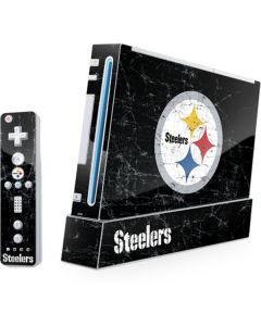 Pittsburgh Steelers Distressed Wii (Includes 1 Controller) Skin