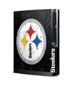Pittsburgh Steelers Distressed Playstation 3 & PS3 Slim Skin