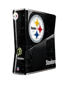 Pittsburgh Steelers Distressed Xbox 360 Slim (2010) Skin