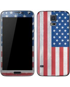 American Flag Distressed Galaxy S5 Skin