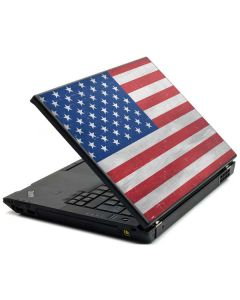 American Flag Distressed Lenovo T420 Skin