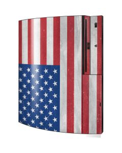 American Flag Distressed Playstation 3 & PS3 Skin