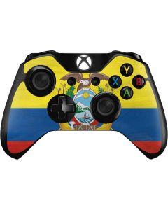 Ecuador Flag Distressed Xbox One Controller Skin