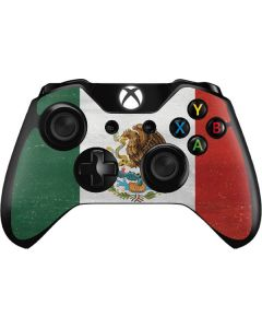 Mexico Flag Distressed Xbox One Controller Skin