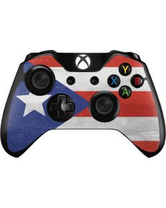 Puerto Rico Flag Distressed Xbox One Controller Skin