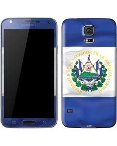 El Salvador Flag Galaxy S5 Skin