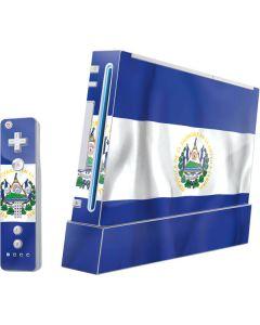 El Salvador Flag Wii (Includes 1 Controller) Skin