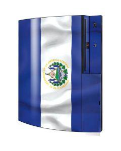El Salvador Flag Playstation 3 & PS3 Skin