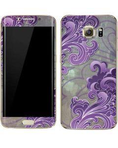 Purple Flourish Galaxy S7 Edge Skin